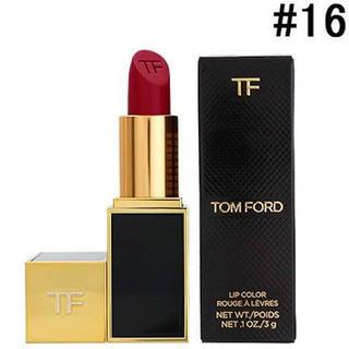トムフォード(TOM FORD)のTOM FORD BEAUTY*リップ #16 スカーレットルージュ(口紅)