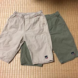 ダブルビー(DOUBLE.B)のダブルB 半ズボン サイズ100  2枚セット(パンツ/スパッツ)