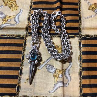 エムズコレクション(M's collection)のエムズコレクション ブルーストーンネックレス(ネックレス)