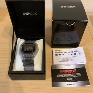 ジーショック(G-SHOCK)の新品 CASIO G-SHOCK  DW-5600クリア(腕時計(デジタル))