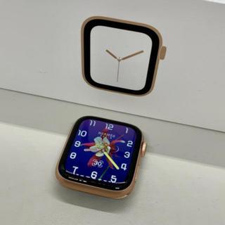 アップルウォッチ(Apple Watch)の【良品】Apple Watch Series 4 GPS 44mm 希少ゴールド(腕時計(デジタル))