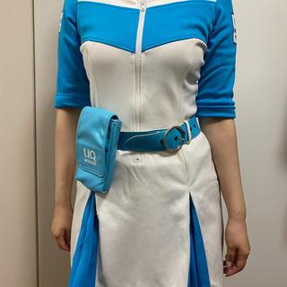 【UQ WiMAX】キャンペーンガール衣装 着用済(衣装一式)