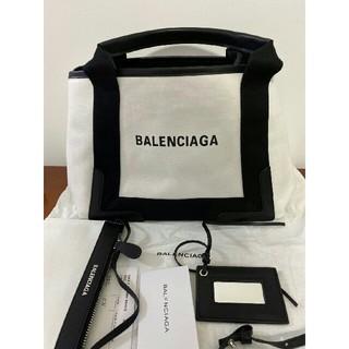 バレンシアガ(Balenciaga)のバレンシアガ ネイビーカバ トートバッグ Sサイズ(トートバッグ)