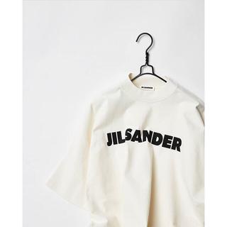 Jil Sander - 新品正規品 JIL SANDER ジルサンダー オーバーサイズ ロゴTシャツ