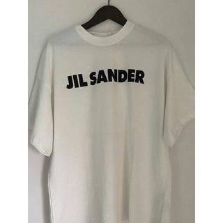 ジルサンダー(Jil Sander)のM JILSANDER ジルサンダー ロゴ プリント Tシャツ(Tシャツ(半袖/袖なし))