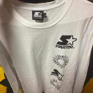 シュプリーム(Supreme)のexample×starterblacklabelコラボロンT(Tシャツ/カットソー(七分/長袖))