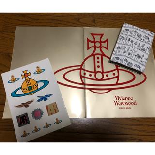 ヴィヴィアンウエストウッド(Vivienne Westwood)のヴィヴィアン ウエストウッド  ステッカー&ノート(シール)