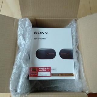 ソニー(SONY)のSONY ワイヤレスイヤホン WF-1000-XM3(ヘッドフォン/イヤフォン)