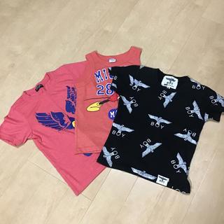 ボーイロンドン(Boy London)のシャツ3枚  130センチ(Tシャツ/カットソー)
