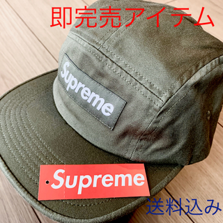 Supreme - supreme washed chino twill campcap olive