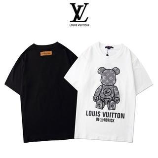 ルイヴィトン(LOUIS VUITTON)のLuois. .vuitton Tシャツ 半袖 2枚9000円送料込み(Tシャツ/カットソー(半袖/袖なし))