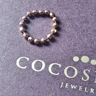 ココシュニック(COCOSHNIK)の再値引き/ピンキーリング3号cocoshnik(リング(指輪))