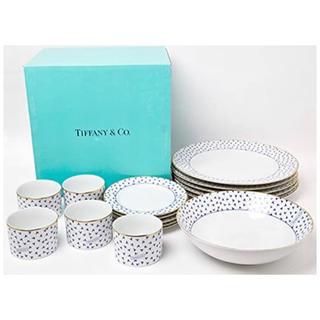 Tiffany & Co. - 【新品未使用】ティファニー ダンシングT 食器16点セット