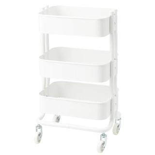 イケア(IKEA)のIKEA/RÅSHULT ロースフルト ホワイト(キッチン収納)