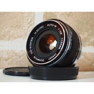 オリンパス(OLYMPUS)のOLYMPUS OM-SYSTEM ZUIKO AUTO-W 24mm F2.8(レンズ(単焦点))