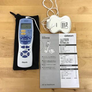 オムロン(OMRON)のエレパルスオムロン 低周波治療器 HVF900JE4(マッサージ機)