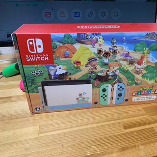 Nintendo Switch - ニンテンドースイッチ  Switch あつまれどうぶつの森セット 本体同梱版