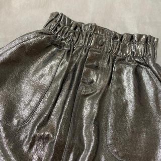 ザラキッズ(ZARA KIDS)のZARA メタリック スカート 128cm(スカート)
