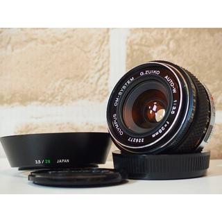 オリンパス(OLYMPUS)のOLYMPUS OM-SYSTEM ZUIKO AUTO-W 28mm F3.5(レンズ(単焦点))