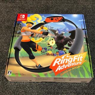 ニンテンドースイッチ(Nintendo Switch)のリングフィット アドベンチャー Switch 新品 未開封品(家庭用ゲームソフト)
