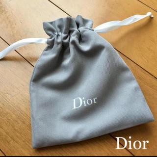 クリスチャンディオール(Christian Dior)の❤️ディオール ミニ巾着 1枚 ポーチ 新品未使用(ポーチ)