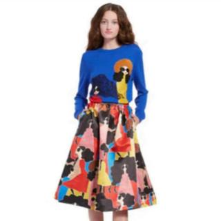 アリスアンドオリビア(Alice+Olivia)のアリスオリビア スカート(ロングスカート)