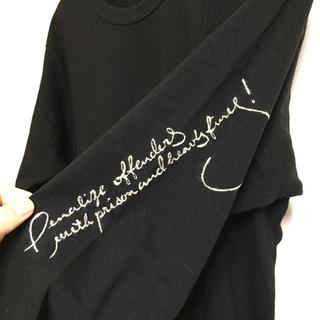 ヨウジヤマモト(Yohji Yamamoto)のYohjiyamamoto POUR HOMME  長袖カットソー (Tシャツ/カットソー(七分/長袖))