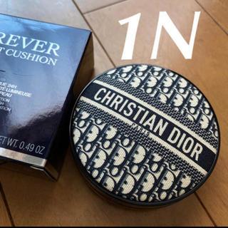 クリスチャンディオール(Christian Dior)の❤️ディオール 1N 限定 ロゴマニア クッションファンデーション 新品未使用(ファンデーション)