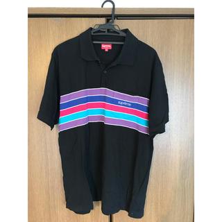 シュプリーム(Supreme)のsupreme ポロシャツ XL シュプリーム ロンT 半袖Tシャツ 美品(ポロシャツ)