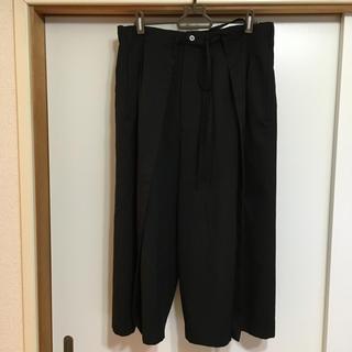 ヨウジヤマモト(Yohji Yamamoto)のGround Y ウールギャバ パンツ(その他)