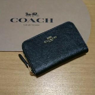 コーチ(COACH)の新品 ⭐ COACH コーチ コインケース ⭐ ブラック(コインケース/小銭入れ)