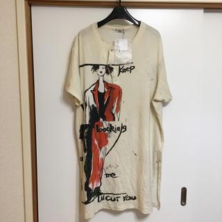 ヨウジヤマモト(Yohji Yamamoto)のYohjiyamamoto POUR HOMME 17SS 半袖カットソー (Tシャツ/カットソー(半袖/袖なし))