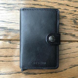 【新品未使用】SECRID MINI WALLET 黒(折り財布)
