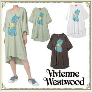 Vivienne Westwood - ヴィヴィアン ウエストウッド 新品 オーブ キャット BIG ワンピース