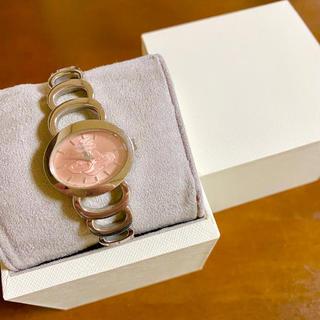 ヴィヴィアンウエストウッド(Vivienne Westwood)の【美品!!】ヴィヴィアン 腕時計 ピンク×シルバー オーブ文字盤 春夏🎀(腕時計)