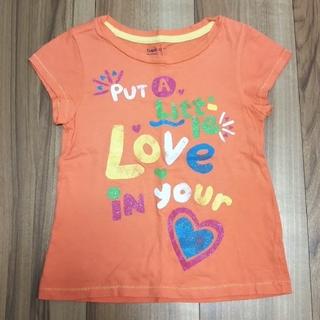 ギャップキッズ(GAP Kids)の110cm GapKids Tシャツ オレンジ(Tシャツ/カットソー)