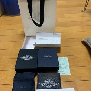 Christian Dior - dior エアージョーダン カードケース