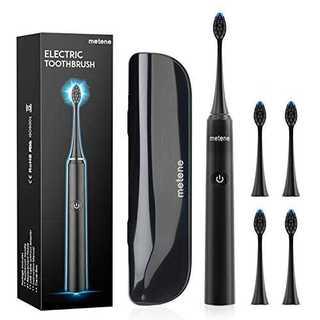 電動歯ブラシ 歯ブラシ Metene 音波歯ブラシ ソニック 5つのモード 替え(電動歯ブラシ)