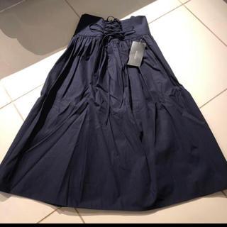 ザラ(ZARA)のZARA ハイウエストスカート(ひざ丈スカート)
