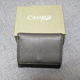 チマブエ グレースフル シュランケンカーフミニ財布 日本製(折り財布)