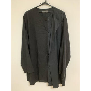 ヨウジヤマモト(Yohji Yamamoto)のyohji yamamoto ヨウジヤマモトシャツ 黒 サイズ3(シャツ)