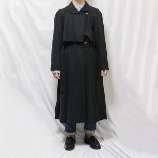 ハレ(HARE)のロングコート vintage 古着(トレンチコート)
