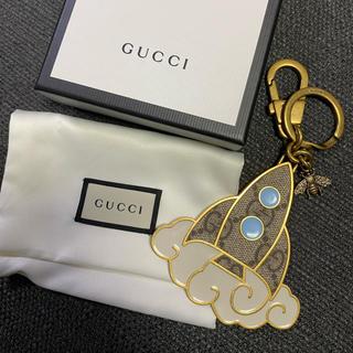 グッチ(Gucci)のグッチ キャンバス キーリング 新品未使用(キーホルダー)