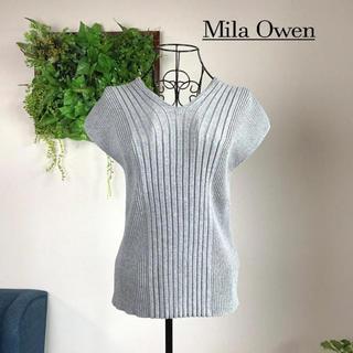 Mila Owen - 【美品】  Mila Owen ミラオーウェン 半袖ニット