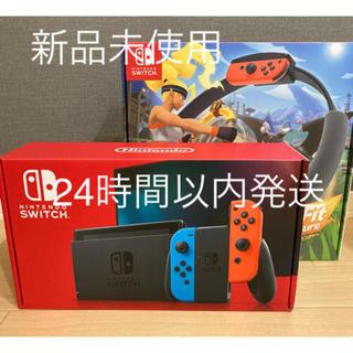 ニンテンドースイッチ(Nintendo Switch)のSwitch 本体 リングフィットアドベンチャーセット(家庭用ゲーム機本体)