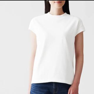 MUJI (無印良品) - 無印良品 フレンチスリーブT 完売品 XS ホワイト