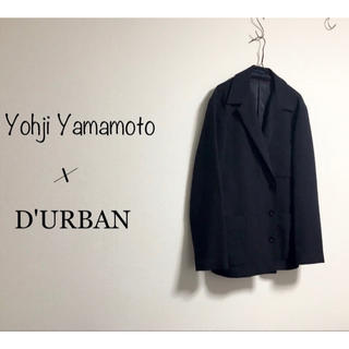ヨウジヤマモト(Yohji Yamamoto)のYohji Yamamoto × Durban カバーオール ジャケット モード(テーラードジャケット)
