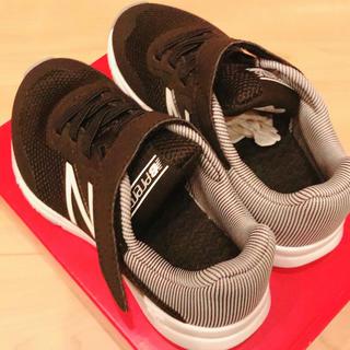 ニューバランス(New Balance)のニューバランス  キッズ スニーカー 黒 17.0センチ(スニーカー)