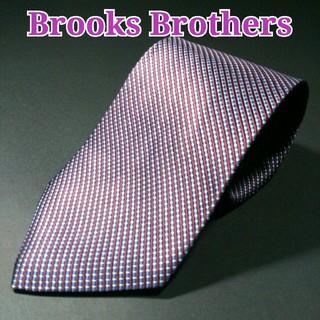 ブルックスブラザース(Brooks Brothers)のBROOKS BROTHERS  ストライプ ネクタイ  パープル/ブルー(ネクタイ)
