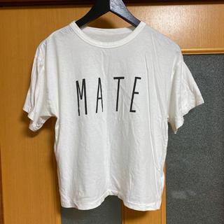 Adam et Rope' - アダム エ ロぺ Tシャツ MATE 白 38サイズ